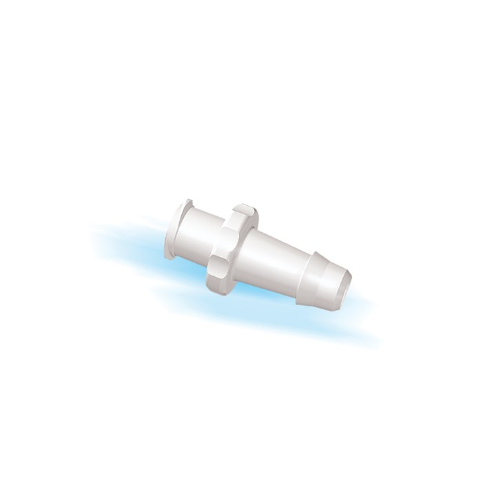 "Female Luer Lock to 3/16"" High Flow Barb (4.75mm) ID Tubing"