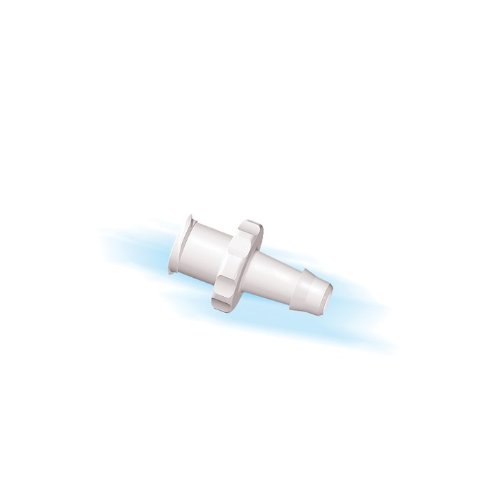 "Female Luer Lock to 5/32"" High Flow Barb (4mm) ID Tubing"