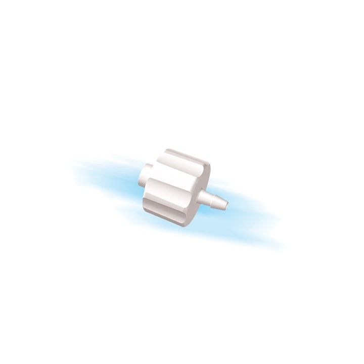 "Male Luer Lock to 1/16"" Barb (1.5mm) ID Tubing"